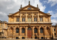 The Sheldonian Theatre. Oxford University, Oxford, England