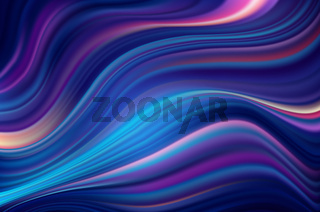 Modern colorful flow poster. Blue Wave Liquid shape multycolor background.