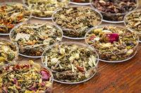 herbal tea sampler collection