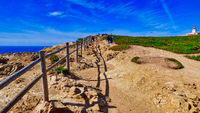 Path to Lighthouse at Cabo da Roca, Portugal