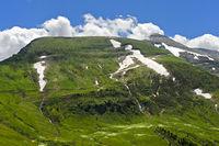 Der Gipfel Mont Joly bei Megeve, Hochsavoyen, Frankreich