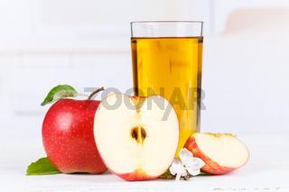 Apfelsaft Apfel Saft Äpfel Glas Fruchtsaft