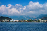 Kemer and the sea
