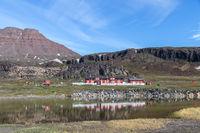 Arctic Station in Qeqertarsuaq, Greenland