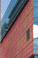 Red Glass Windows