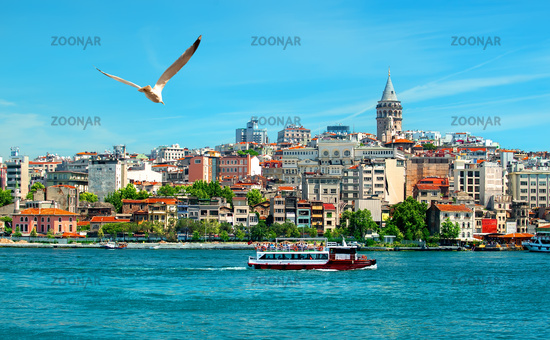 View on istanbul city