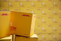 DHL Express packages