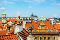 St Vitus cathedral and roofs
