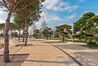 Public city park