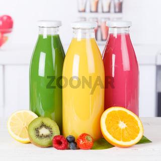 Saft Smoothie Smoothies Flasche Küche Orangensaft Quadrat Fruchtsaft Frucht Früchte