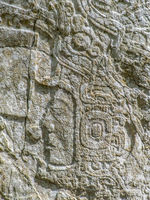 relief at Caracol