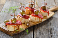 Fingerfood mit Sardellenfilets