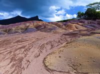 Seven Coloured Earth on Chamarel