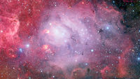 Bursting galaxy. Abstract space. Elements of this image furnished by NASA