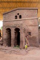 Bete Sillase Orthodox monolith Lalibela, Ethiopia