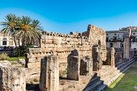 Ortigia Temple of Syracuse