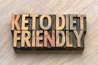 keto diet friendly in wood type