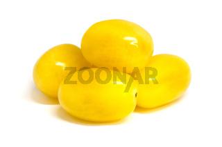 Yellow grape tomatoes
