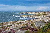 Blick auf die Insel Käringön in Schweden