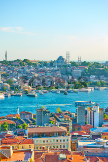 Istanbul and the Golden Horn inlet