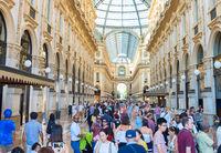 Shopping Galleria Vittorio Emanuele Milan