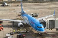 Flugzeug von Thomson auf Gran Canaria