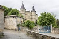 Das Schloss von Chambonas in der Ardeche, Südfrankreich