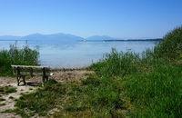 Chiemsee, Lake Chiemsee, Bayern, Bavaria, Deutschland, Germany,