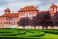 Baroque palace in Prague