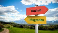 Street Sign Integration versus Racism