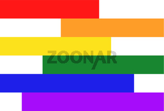 Homosexual colors background illustration
