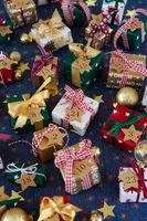 Viele kleine Geschenke zu Weihnachten