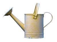 Retro Yellow Watering Can