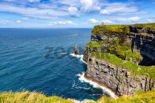 Irland Cliffs of Moher Klippen Reise reisen Landschaft Meer Tourismus Natur Ozean