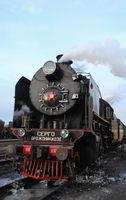 mainline steam locomotive