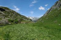 Wanderweg bei Prettau, Tauferer Ahrntal, Südtirol