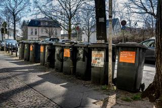 Abfalltonnen in Berlin