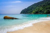 Turtle Beach, Perhentian Islands, Terengganu, Malaysia