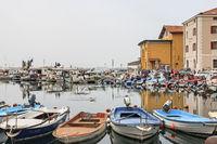 Fischerhafen von Piran