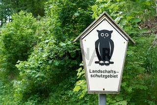 Landschaftsschutzgebiet in Thüringen