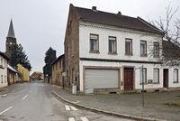 alte Dorfstrasse... Kerpen Manheim *Nordrhein-Westfalen* nach der Umsiedlung für den Braunkohle-Tagebau Hambach