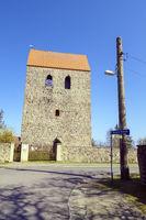Kirche Bergsdorf, Zehdenick, Brandenburg, Deutschland