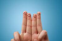 Smile fingers together