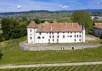 Schloss Allaman, Chateau d'Allaman, Allaman, Waadt, Schweiz