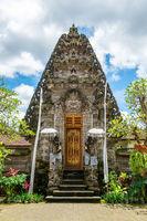 Puri Kantor temple in Ubud, Bali
