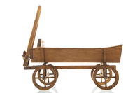 Antique wooden farmers cart