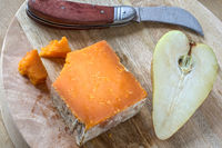 Red Leicester Käse