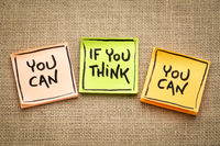 you can if ... concept on sticky notes