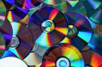 CD shiny background