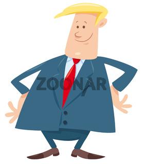 boss cartoon character illustration